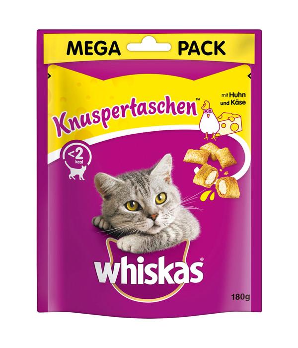 Whiskas® Katzensnack Knuspertaschen