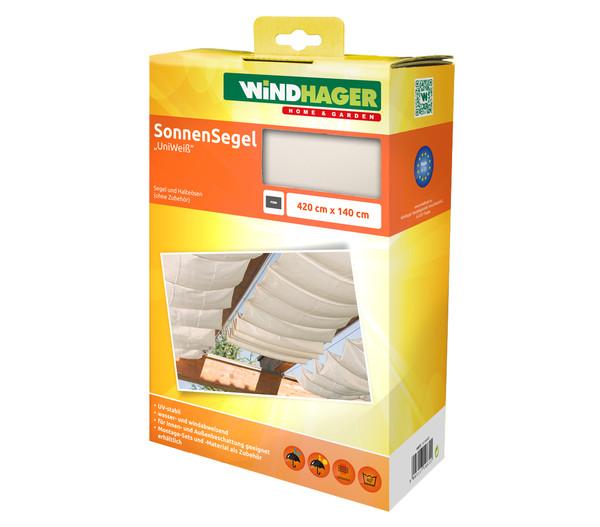Windhager Sonnensegel, 420 x 140 cm