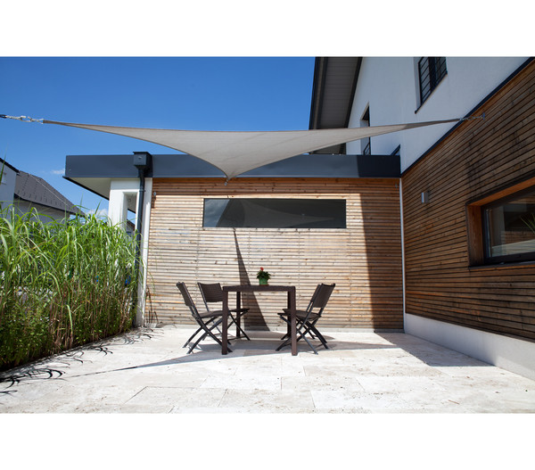 Windhager Sonnensegel SunSail Adria Dreieck, 3,6 x 3,6 x 3,6 m