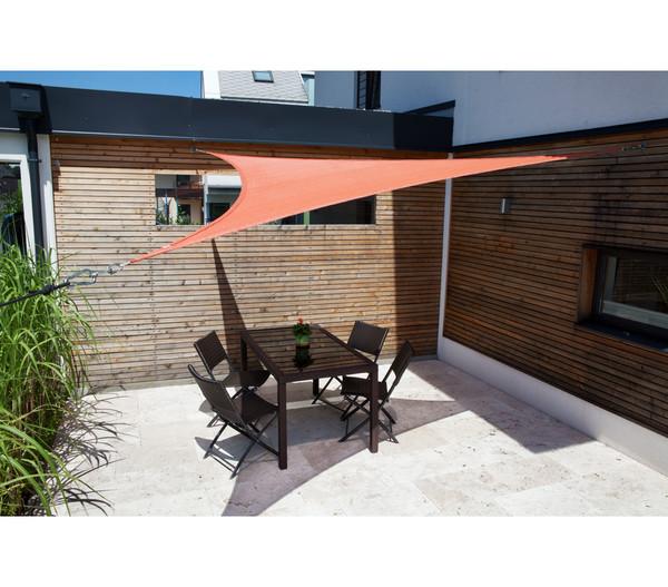 Windhager Sonnensegel SunSail Adria Dreieck, 5 x 5 m