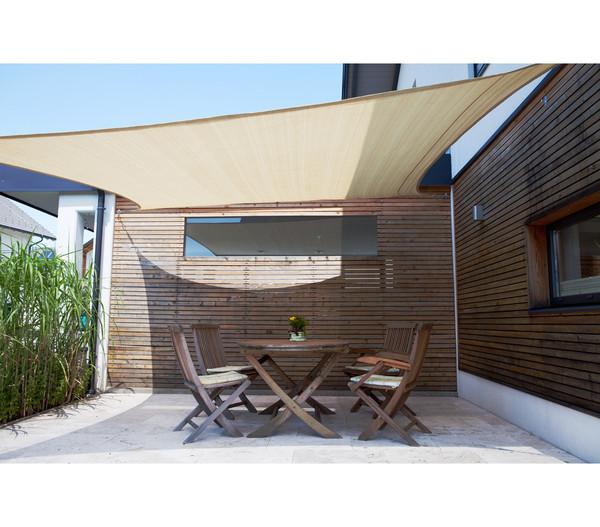 Windhager Sonnensegel SunSail Adria Quadrat, 3,6 x 3,6 m