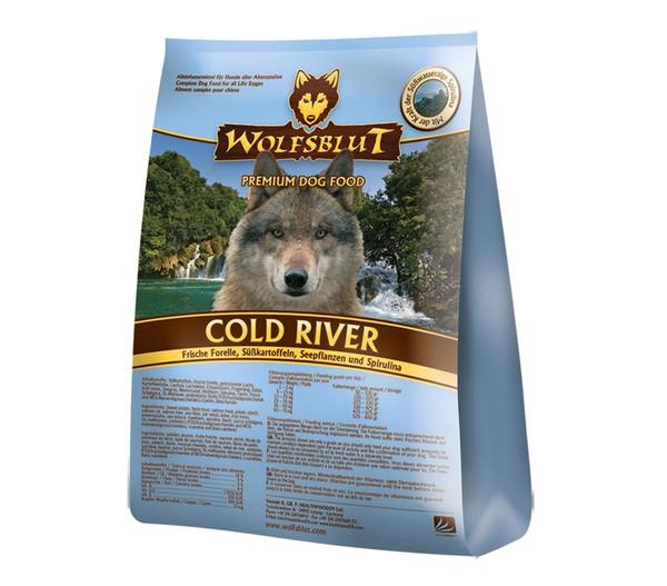 Wolfsblut Cold River Forelle & Süßkartoffel, Trockenfutter