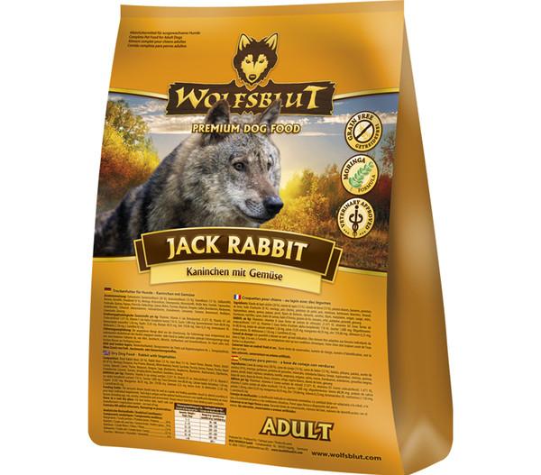Wolfsblut Jack Rabbit Adult Kaninchen & Gemüse, Trockenfutter