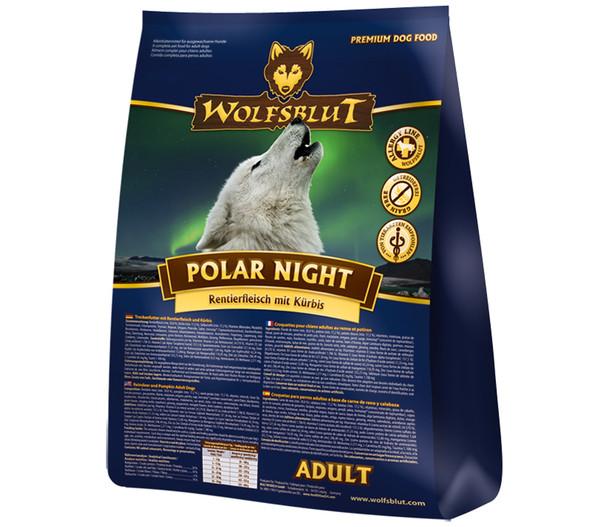 WOLFSBLUT Polar Night Trockenfutter Rentier & Kürbis