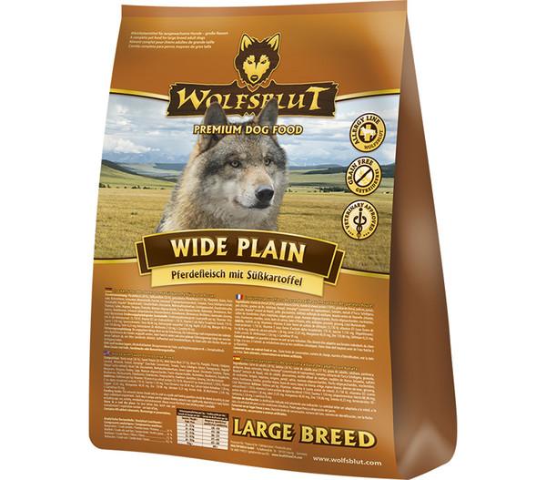 Wolfsblut Trockenfutter Wide Plain Large Breed Pferd & Süßkartoffel