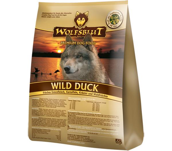 Wolfsblut Trockenfutter Wild Duck Adult Ente & Kartoffeln