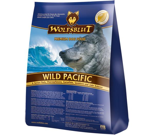 Wolfsblut Trockenfutter Wild Pacific 6 Sorten Fisch & Kartoffeln
