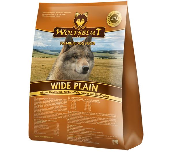 WOLFSBLUT Wide Plain Trockenfutter Pferd & Süsskartoffeln
