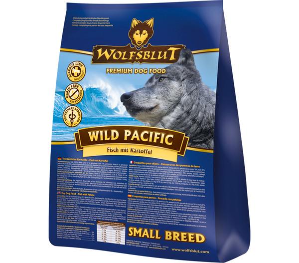 Wolfsblut Wild Pacific Adult Small Breed Fisch & Kartoffel, Trockenfutter