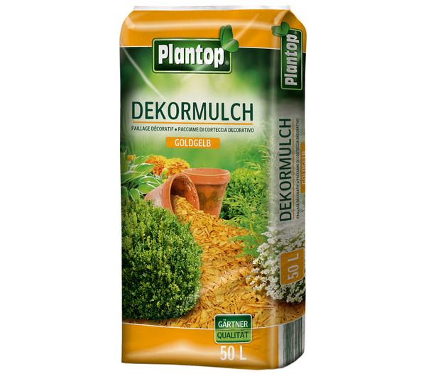 Ziegler Plantop Dekormulch Goldgelb, 39 x 50 Liter