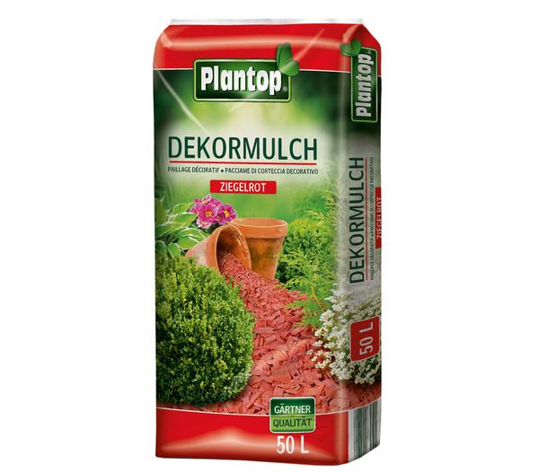 Ziegler Plantop Dekormulch Ziegelrot, 39 x 50 Liter