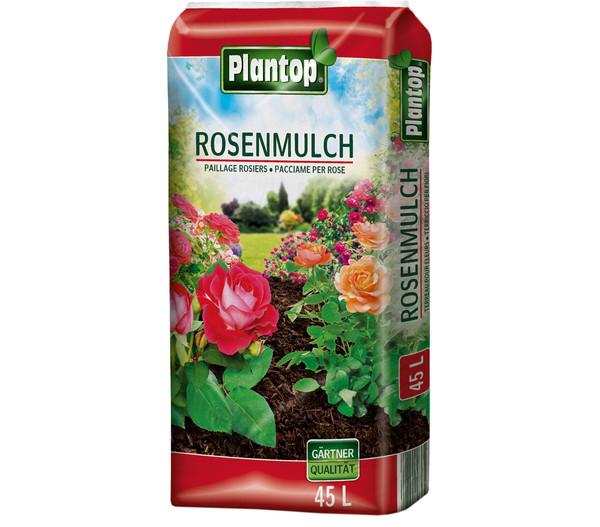 Ziegler Plantop Rosenmulch, 45 x 45 Liter