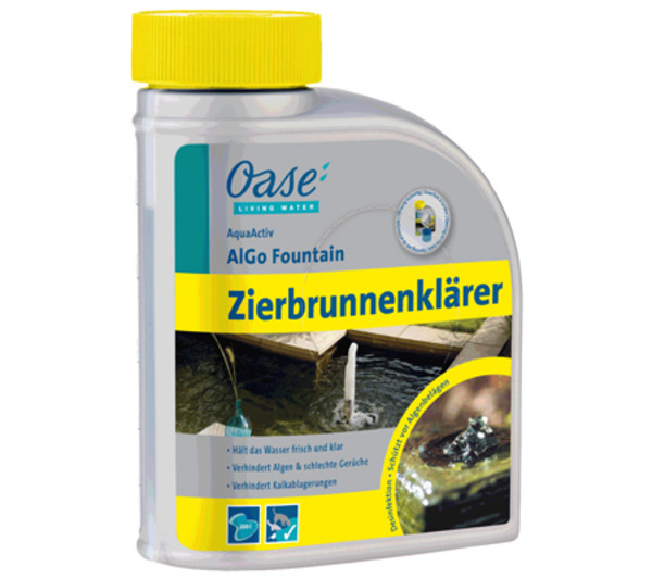Zierbrunnenklärer AquaActiv AlGo Fountain
