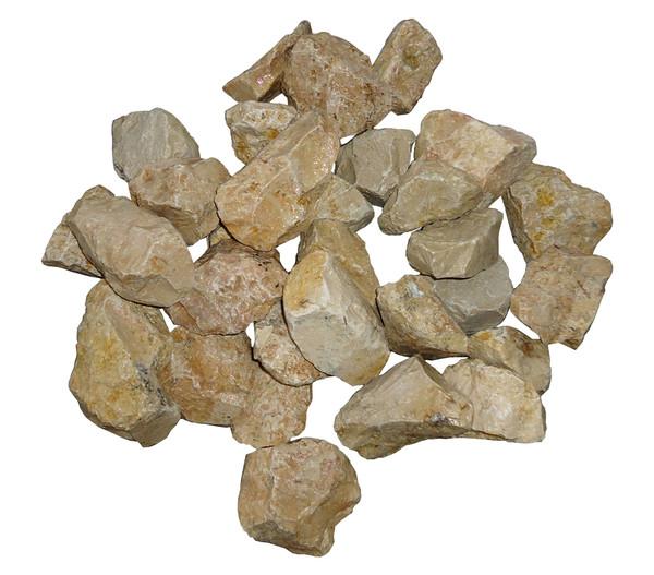 Ziersteine Giallo, 45 - 56 mm, 25 kg