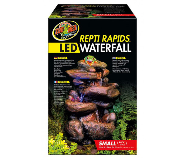 Zoo Med Repti Rapids LED Wasserfall S, Stein