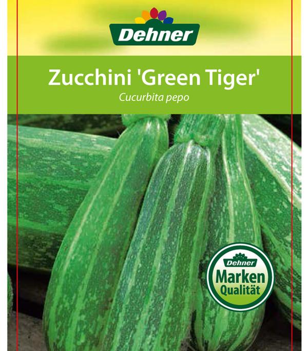 Zucchini 'Green Tiger'