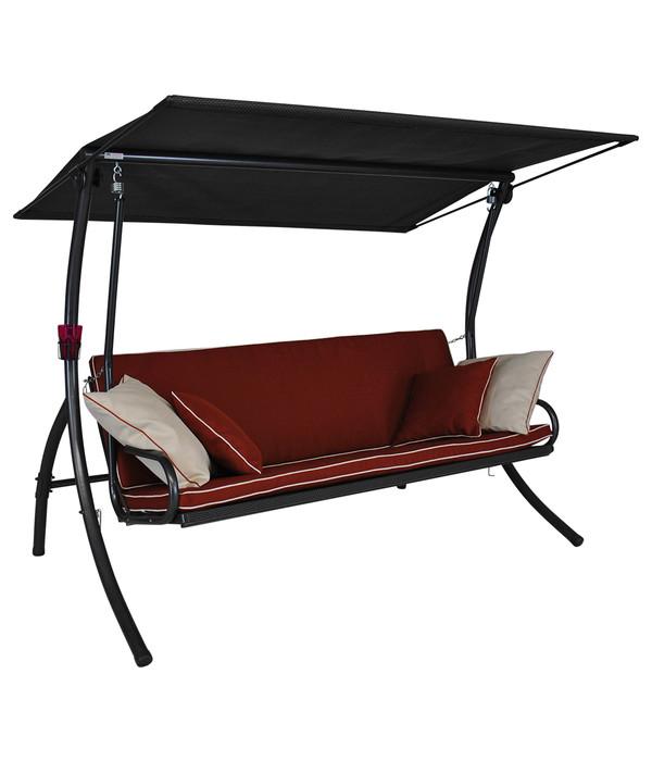 angerer hollywoodschaukel elegance style terracotta 3 sitzer dehner. Black Bedroom Furniture Sets. Home Design Ideas