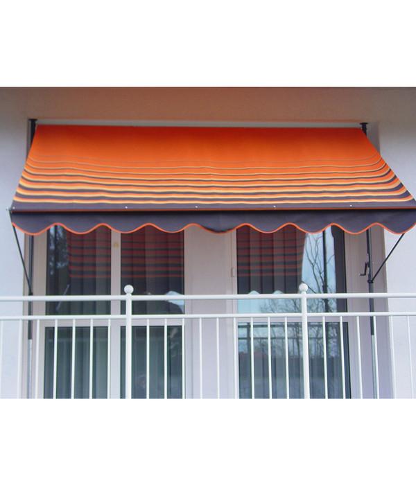angerer klemmmarkise design 200 orange braun. Black Bedroom Furniture Sets. Home Design Ideas