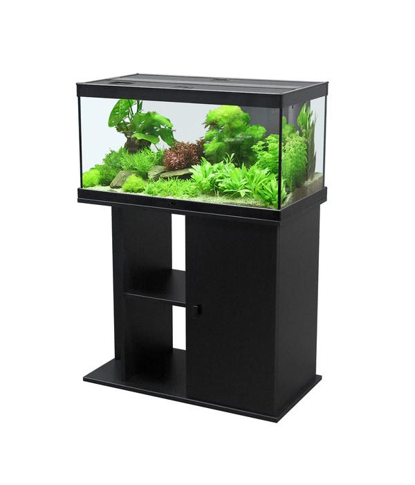 aquatlantis aquarium kombination style led 80x35 dehner. Black Bedroom Furniture Sets. Home Design Ideas