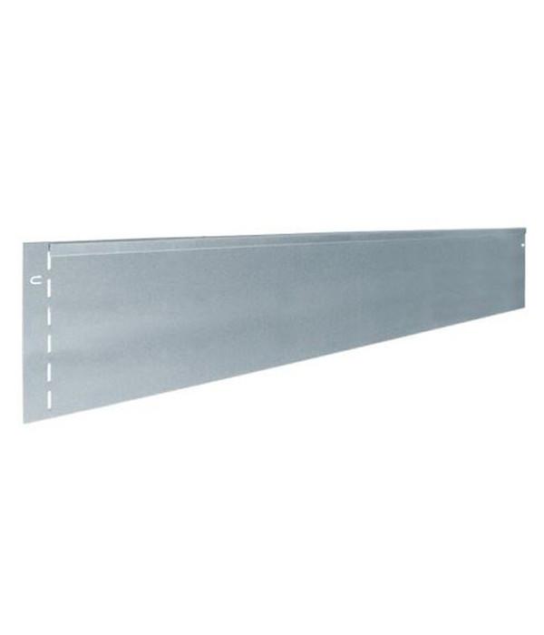 bellissa Metall-Rasenkante, verzinkt, 118 x 19,5 cm | Dehner