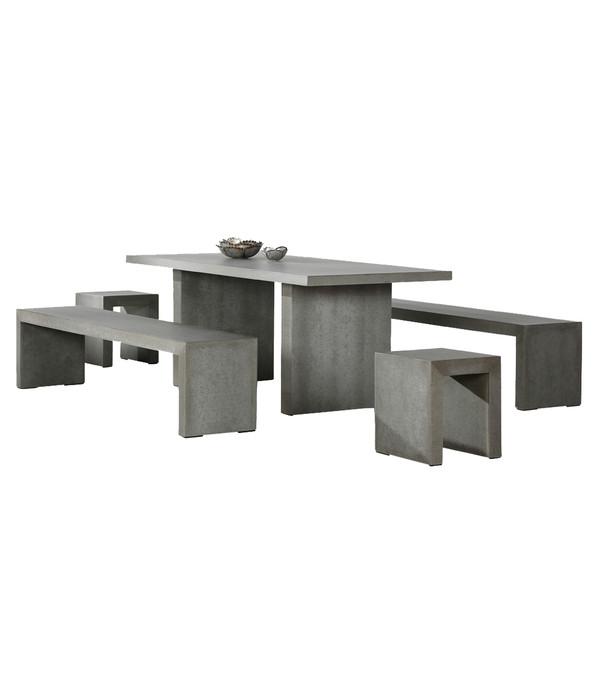 best tischgruppe rockall 5 teilig dehner. Black Bedroom Furniture Sets. Home Design Ideas
