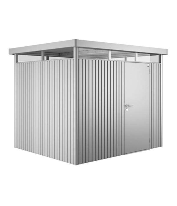 Biohort ger tehaus highline 3 dehner for Kleines gartenhaus metall