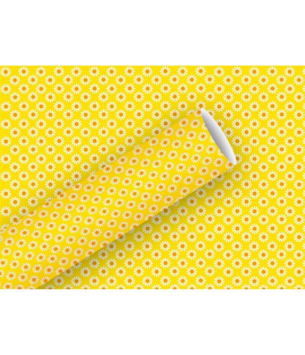 braun company geschenkpapier rosina gelb 2 m dehner. Black Bedroom Furniture Sets. Home Design Ideas