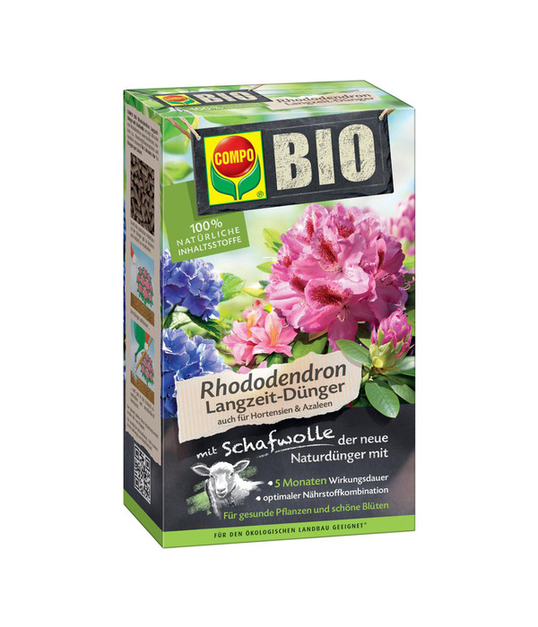 compo bio rhododendron langzeit d nger mit schafwolle 2. Black Bedroom Furniture Sets. Home Design Ideas