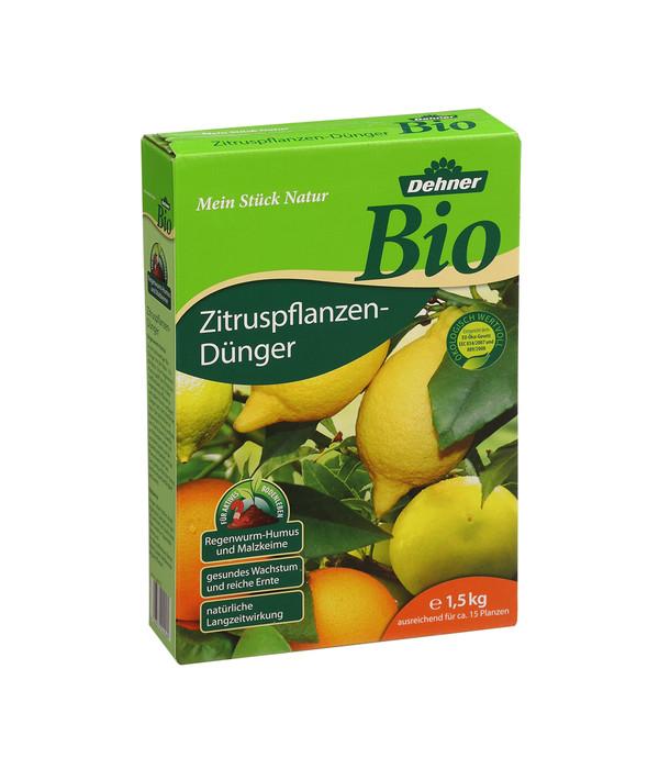dehner bio zitruspflanzen d nger 1 5 kg dehner. Black Bedroom Furniture Sets. Home Design Ideas
