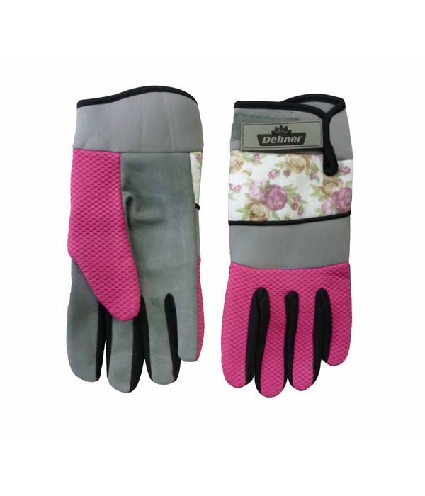 dehner gartenhandschuh mit rosen pink dehner. Black Bedroom Furniture Sets. Home Design Ideas
