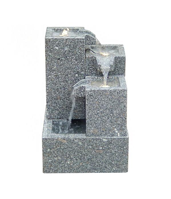 Dehner Granit-Gartenbrunnen Cascada, 43 x 43 x 65 cm | Dehner