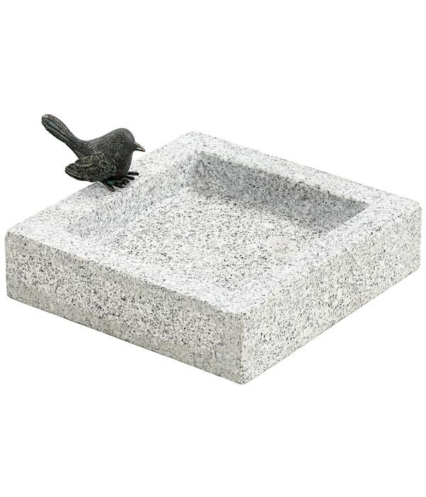 dehner granit vogeltranke 25 x 25 x 10 cm dehner With französischer balkon mit garten steinskulpturen granit elefant