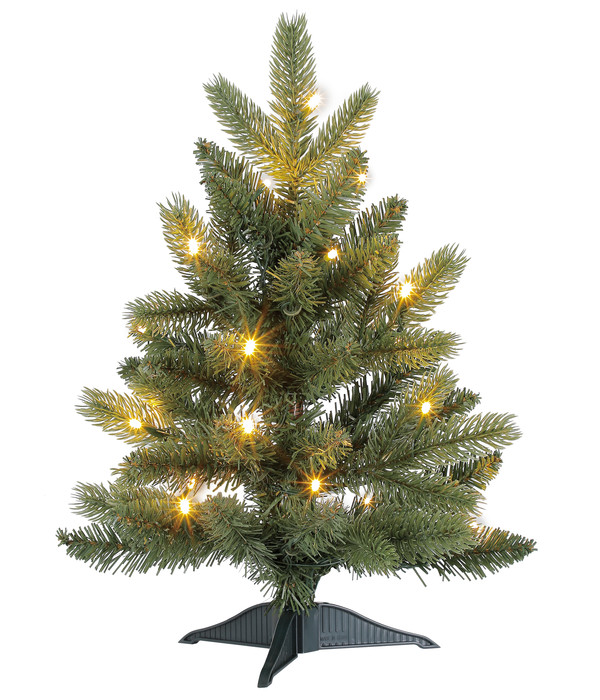 dehner k nstlicher weihnachtsbaum tanne 39 espen 39 mit led. Black Bedroom Furniture Sets. Home Design Ideas