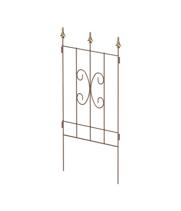 dehner kombi spalier clematis rost gold dehner. Black Bedroom Furniture Sets. Home Design Ideas