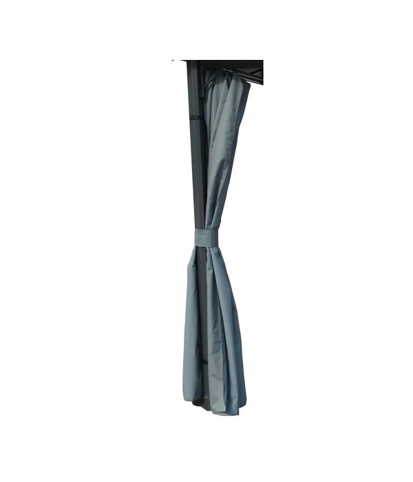 dehner markenqualit t seitenteile f r pavillon dubai 3 x 3 m dehner. Black Bedroom Furniture Sets. Home Design Ideas