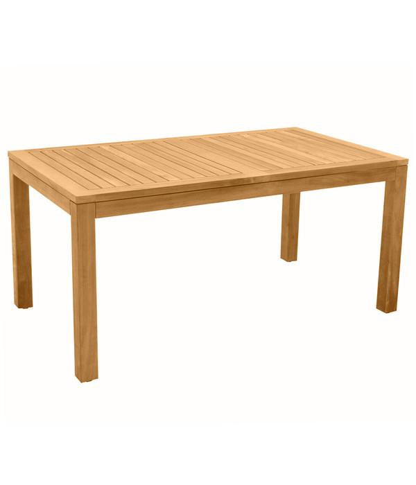 dehner markenqualit t teaktisch 160 x 90 x 76 cm dehner. Black Bedroom Furniture Sets. Home Design Ideas