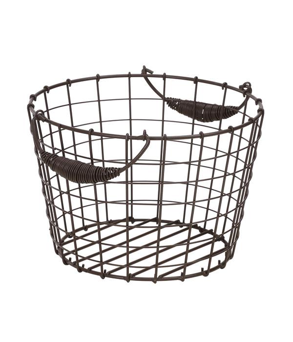 dehner metall deko drahtkorb dehner. Black Bedroom Furniture Sets. Home Design Ideas