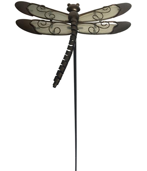 dehner metall dekostab libelle