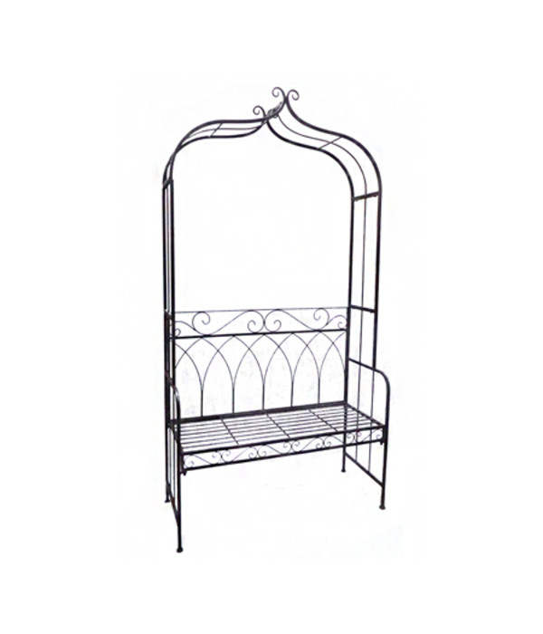 dehner metall rosenbank sonja 2 sitzer dehner. Black Bedroom Furniture Sets. Home Design Ideas
