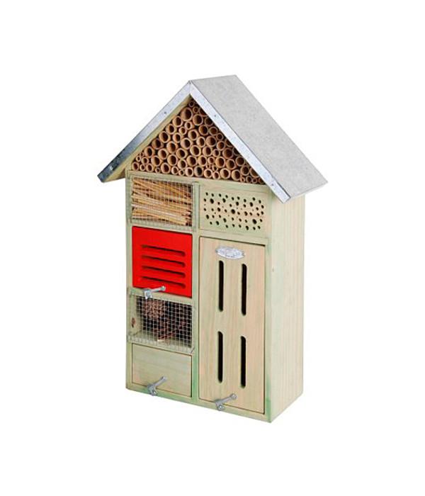 dehner natura insektenhotel 31 5 x 48 5 x 15 cm dehner. Black Bedroom Furniture Sets. Home Design Ideas