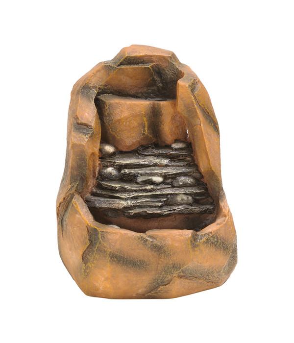 dehner polyresin zimmerbrunnen timber 17 x 19 5 x 25 5 cm. Black Bedroom Furniture Sets. Home Design Ideas
