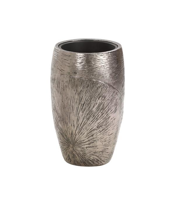 Dehner Polystone-Topf, anthrazit, Ø 45 x 73 cm | Dehner