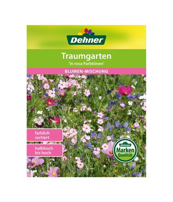 Dehner Samen Blumenmischung \'Farbgarten in rosa Tönen\'   Dehner