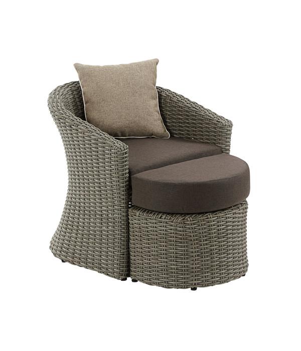 dehner sessel princeton mit hocker dehner. Black Bedroom Furniture Sets. Home Design Ideas