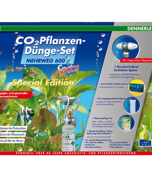 Dennerle CO2 Pflanzendünge-Set Mehrweg 600 Space Special ...