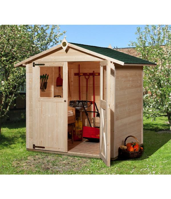 gartenhaus 316 dehner. Black Bedroom Furniture Sets. Home Design Ideas