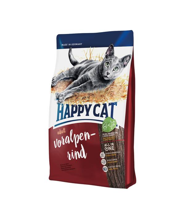 happy cat supreme adult voralpen rind trockenfutter dehner. Black Bedroom Furniture Sets. Home Design Ideas