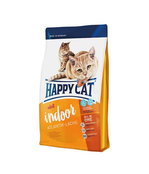 happy cat supreme indoor adult atlantic lachs trockenfutter dehner. Black Bedroom Furniture Sets. Home Design Ideas