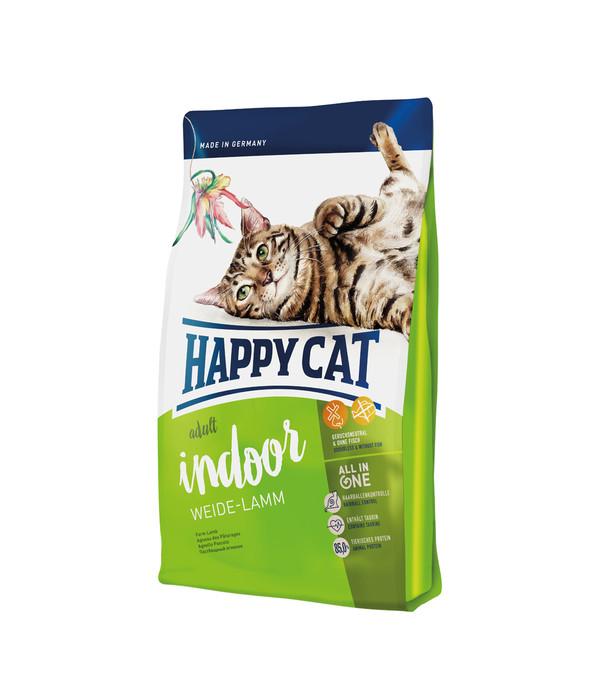 happy cat supreme indoor adult weide lamm trockenfutter dehner. Black Bedroom Furniture Sets. Home Design Ideas