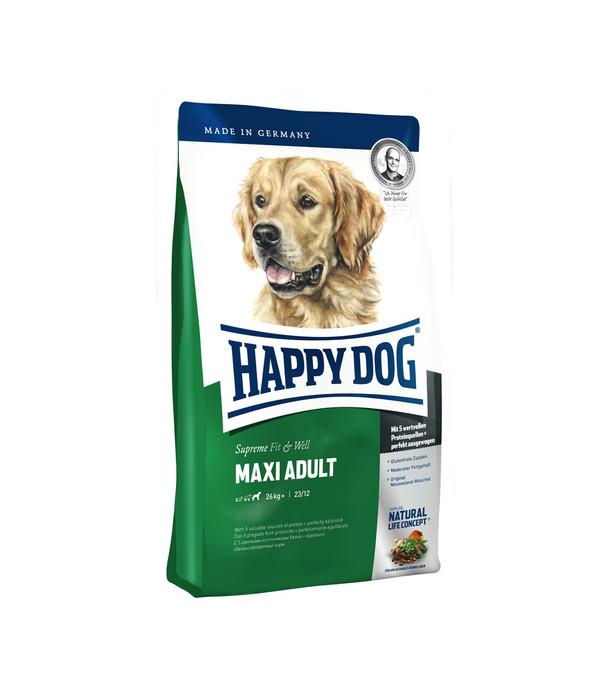 happy dog maxi adult fit well trockenfutter dehner. Black Bedroom Furniture Sets. Home Design Ideas